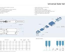 FUS1.5bar 滑板閥外形尺寸圖