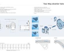 WRK4bar 內部擺動錘型換向閥外形尺寸圖