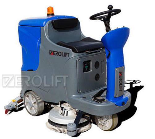 电动驾驶式洗地机