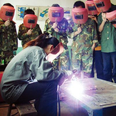 电工电焊培训现场