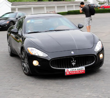 婚庆租车 玛莎拉蒂GT-黑色