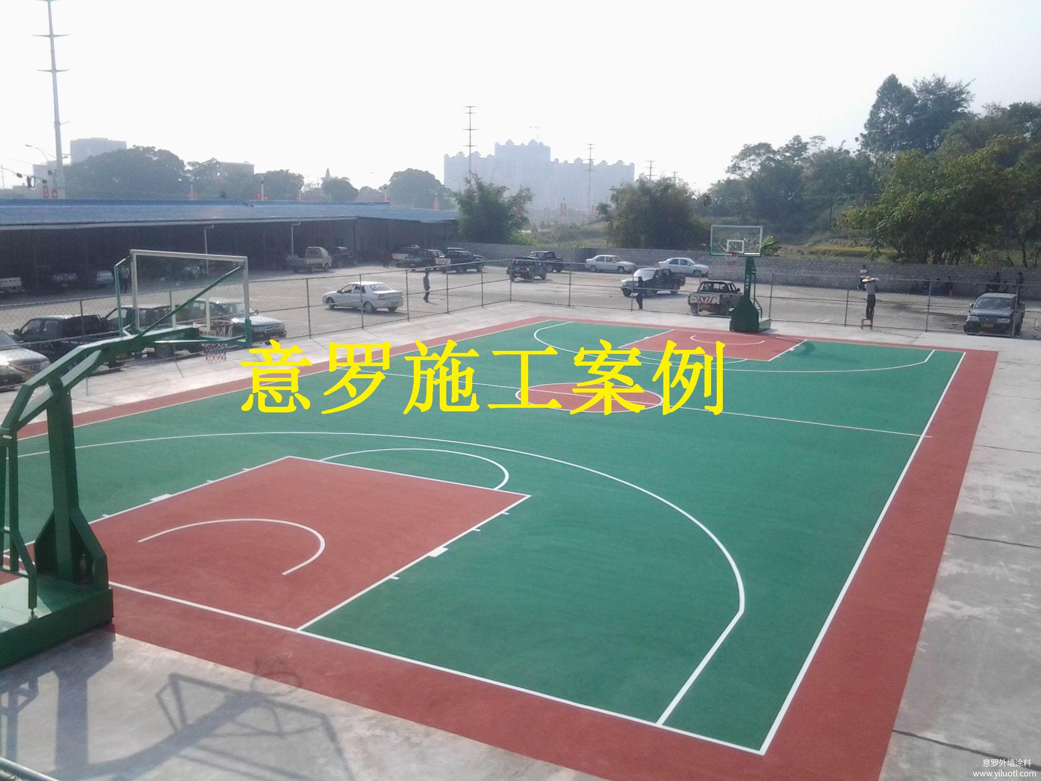 塑胶球场地坪材料