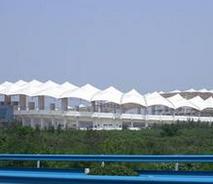 广场膜结构|600平米公园膜结构|膜结构工程|奥鼎膜结构价格优惠