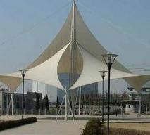 晋江世纪公园广场膜结构|公园膜结构工程|奥鼎膜结构建筑|张拉式膜结构厂家