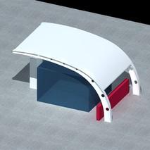 供应景观膜结构|清远景观膜结构|公园膜结构建筑|奥鼎膜结构工程设计