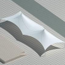 供应景观膜结构|惠州公园膜结构|张拉式膜结构建筑|奥鼎膜结构工程|1000平米膜结构雨棚