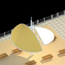 景观膜结构|公园膜结构|沙井公园膜结构|膜结构工程承接并施工
