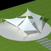 上海膜结构公司|深圳奥鼎膜结构承接膜结构工程、张拉膜结构