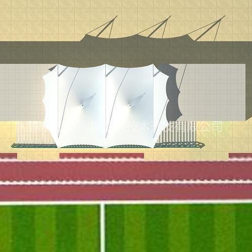 体育场馆膜结构 湛江体育场膜结构 湛江膜结构厂家 奥鼎膜结构工程设计