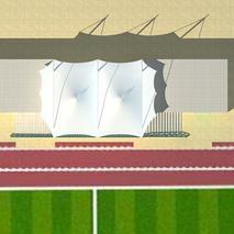 体育场馆膜结构|湛江体育场膜结构|湛江膜结构厂家|奥鼎膜结构工程设计