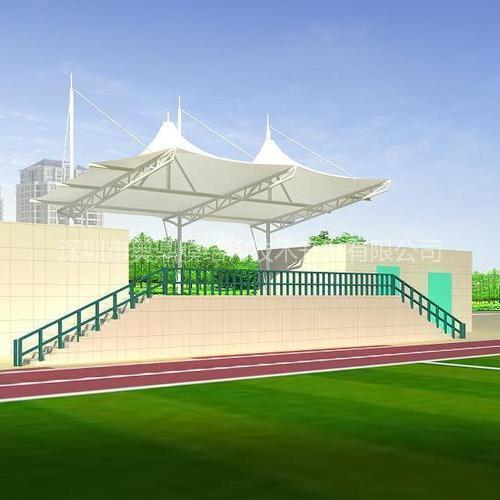 体育看台膜结构|惠州体育看台膜结构|奥鼎钢结构、膜结构工程