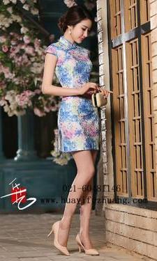 短旗袍036