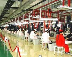 服装轻纺业地坪