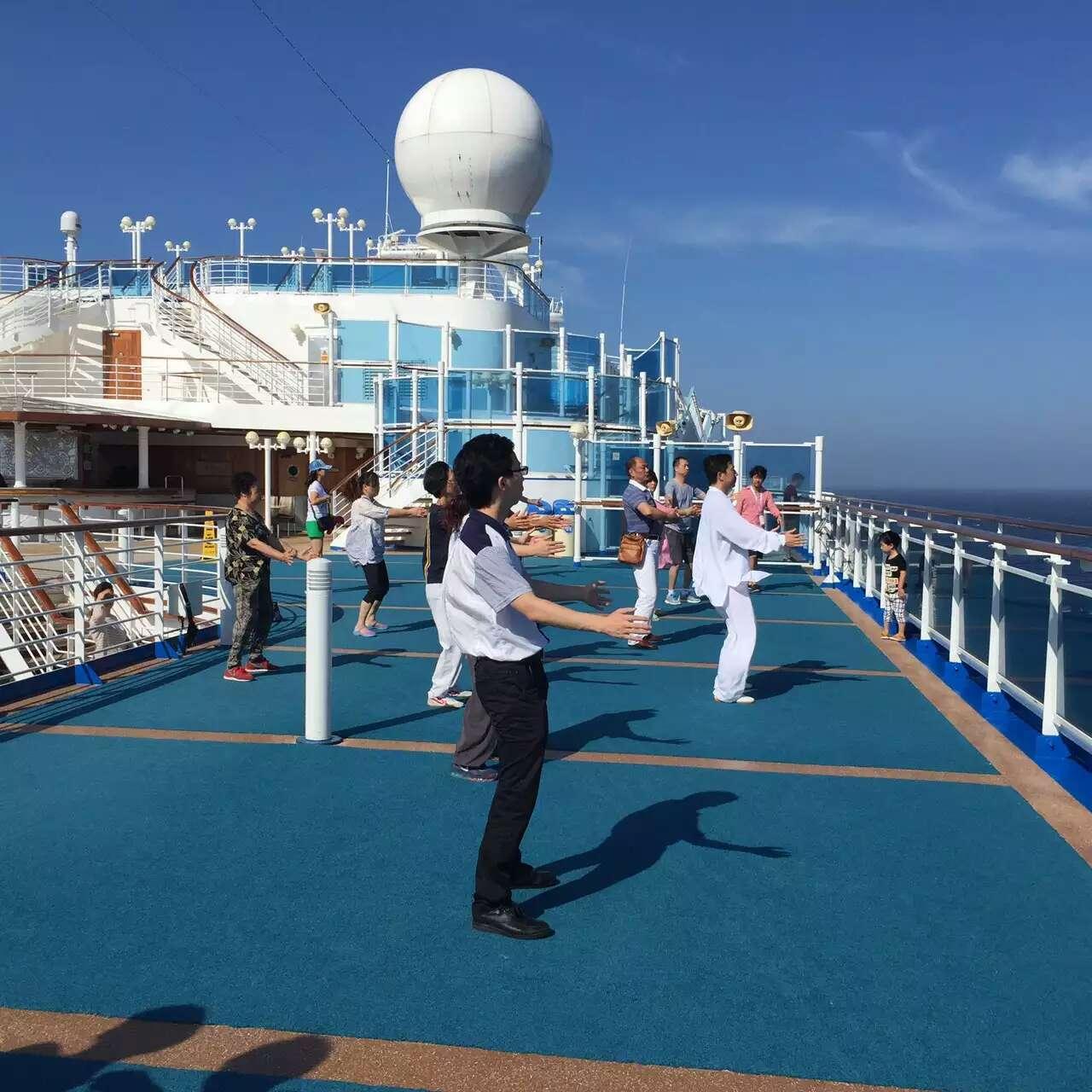 海上太极拳学习