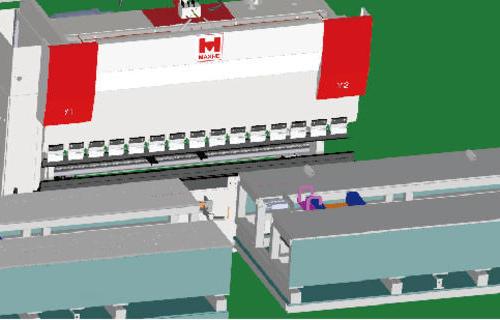机箱机柜门板生产线