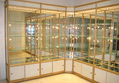 钛合金展柜
