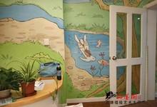 嘉宝幼儿园彩绘墙