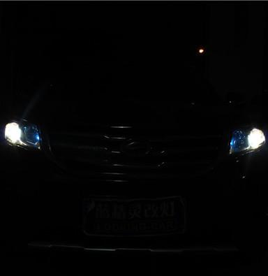 陆风X5上海改灯上海蓝精灵车灯升级q5透镜欧司朗氙气灯恶魔眼