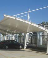 安徽滁州学院汽车停车棚