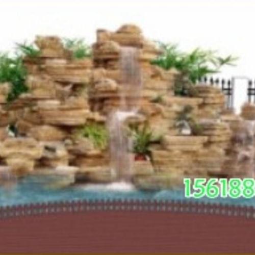 假山水池設計