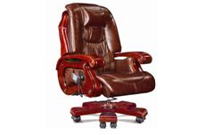 牛皮班椅001