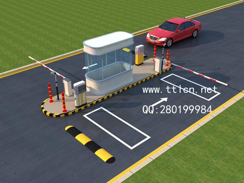 停车场停车库出入口系统效果