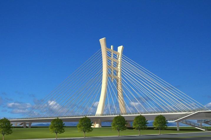 道路桥梁效果图制作
