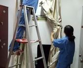 上海浦东保洁公司 专业各种窗帘清洗 别墅窗帘清洗
