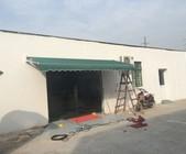 上海遮阳蓬生产厂家 曲臂式遮阳雨篷 雨篷安装加工