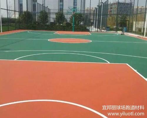杭州火车东站弹性丙烯酸网球场、篮球场项目完工