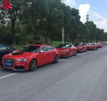 婚慶租車-奧迪A4L紅色車隊