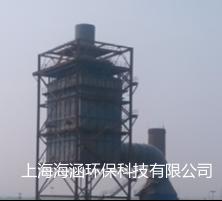 山東臨沂三德特鋼80萬煙氣量燒結機石灰-石膏法脫硫后濕式電除塵器裝置
