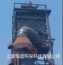 山東沂南壺井特鋼80萬煙氣量燒結機石灰-石膏法脫硫后濕式電除塵器