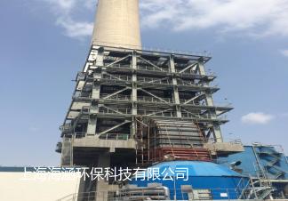 山東怡力電力有限公司(南山熱電廠)4#150MW機組煙氣脫硫后濕式電除塵