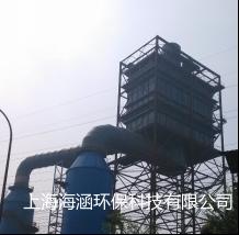 山東臨沂三德特鋼120萬煙氣量燒結機石灰-石膏法脫硫后濕式電除塵器