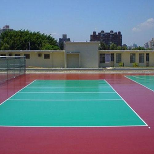 水性硅PU球场