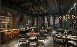 现代西餐馆