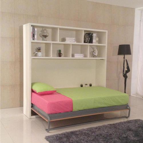 壁床壁柜床节约空间壁床多功能床折叠床翻板床侧翻带顶柜