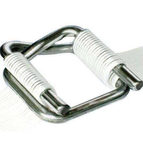 钢丝打包扣批发销售、宽16纤维带专用打包扣、一箱1000个