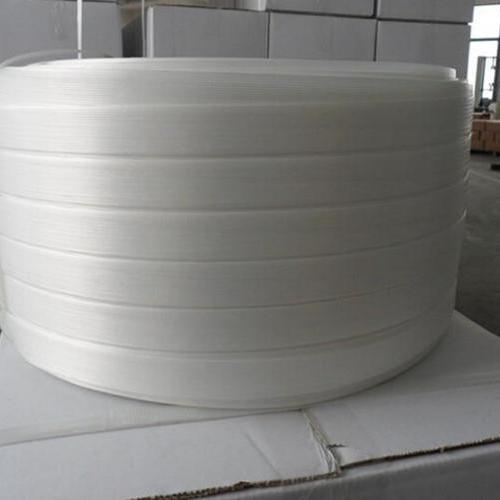 宽32纤维打包带批发销售、上海柔性聚酯打包带厂家、可印字