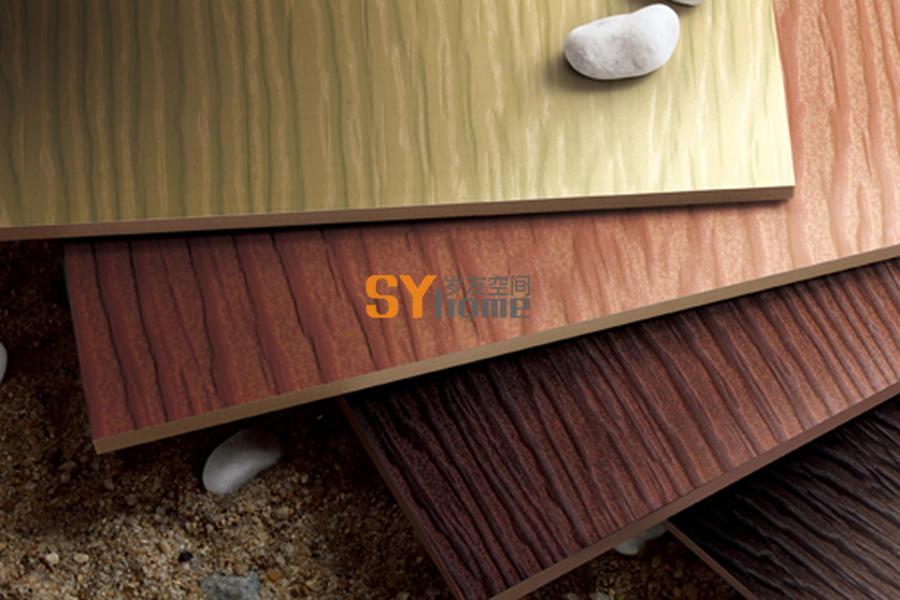 金叠木纹水泥挂板