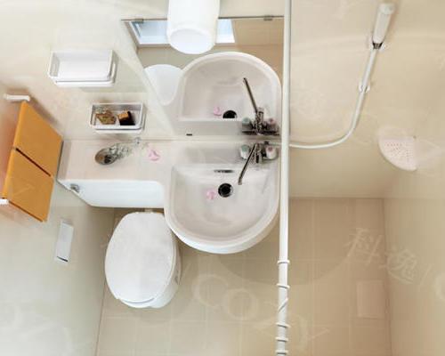 Integrated bathroom integrated bathroom BUL1116