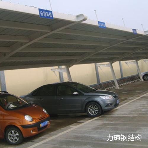 钢结构车棚