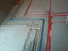 在建工地施工現場實拍—水電施工
