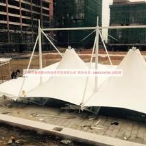 奥鼎膜结构技术承包:惠州市园洲镇广雅学校体育看台膜结构、张拉式膜结构工程