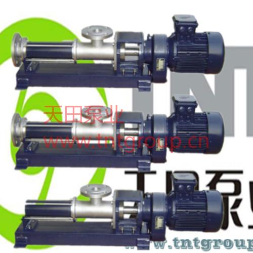 TSP系列G型單螺桿泵