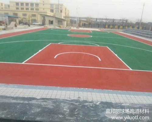 浙江湖州硬地丙烯酸網球場和羽毛球場項目完工