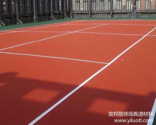 江蘇無錫新區樓頂硬地丙烯酸網球場項目完工