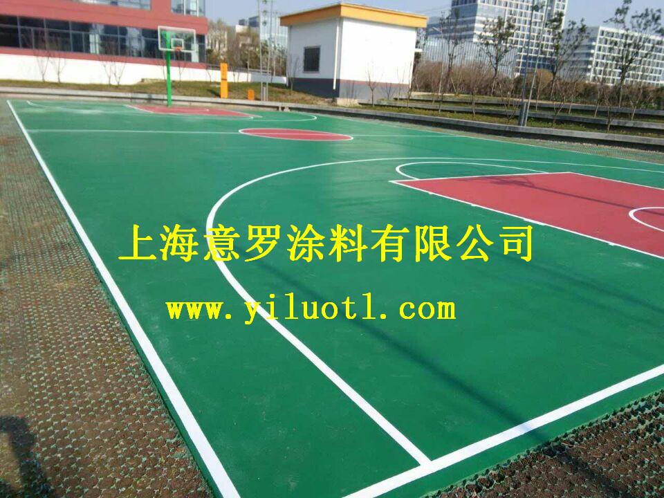 江苏苏州硅pu篮球场施工案例