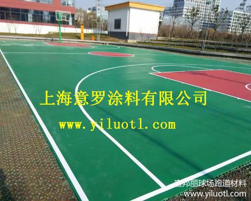 江蘇蘇州硅pu籃球場項目完工——上海硅pu球場材料